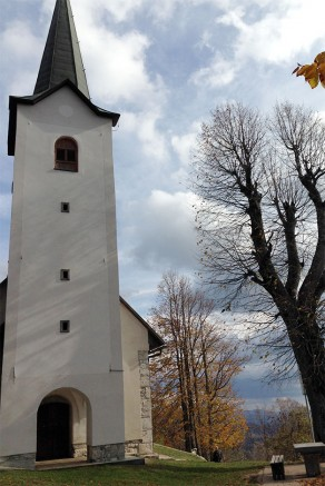 Cerkev Sv. Ana na Mali gori