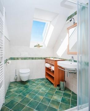 Kopalnica sobe Hruška