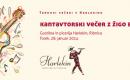 Kantavtorski večer z Žigo Bižalom – Torkovi večeri v Harlekinu