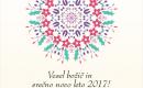 Vesel božič in srečno novo leto 2017!
