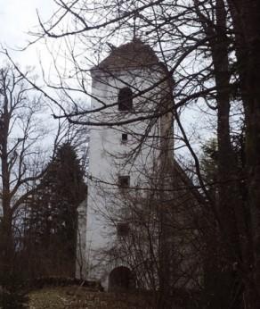 Cerkev sv. Jurija danes.