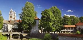 Ribnica, Ribniški grad, Plečnikovi zvoniki